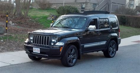 plasti dip jeep liberty turning jet into trailhawk cherox build thread