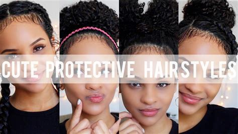 Protective Hairstyles For Curly Hair by Simple Hairstyle For Protective Hairstyles For Curly Hair