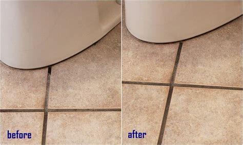 Grout Cleaning Before And After How To Clean Grout With Ingredients