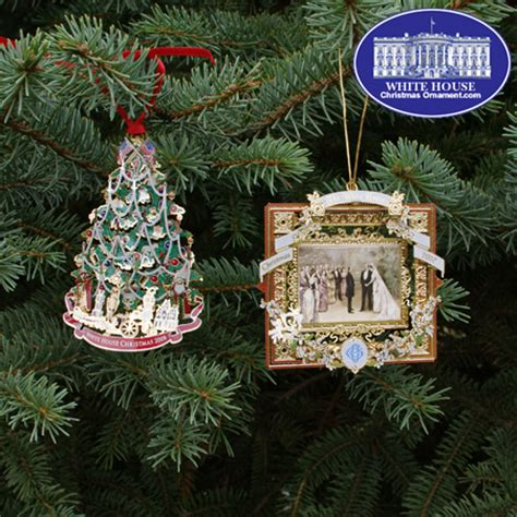 the white house christmas ornament collectibles dc