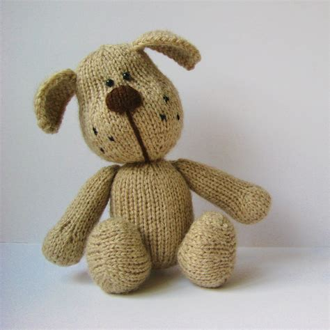 how to knit a puppy knitted toys free patterns crochet and knit