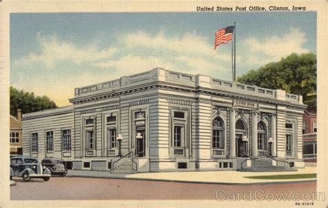 Clinton Iowa Post Office united states post office clinton ia