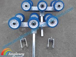 convert boat trailer to rollers boat trailer rollers boat trailer parts roller