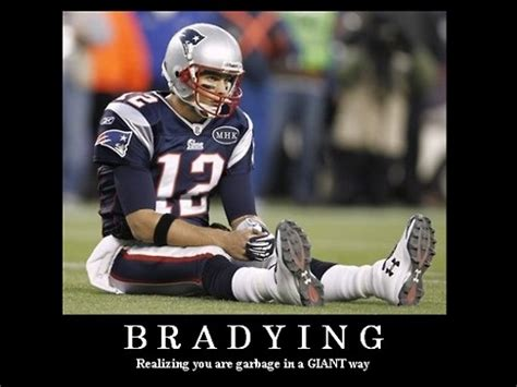 say goodbye to tebowing say hello to bradying lol there