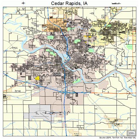 map of cedar rapids iowa cedar rapids iowa map 1912000