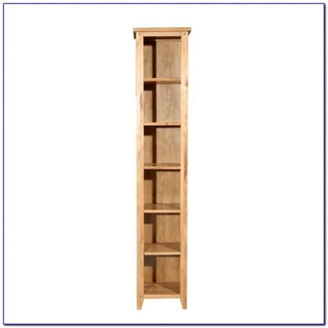 narrow bookcase with doors bookcase home
