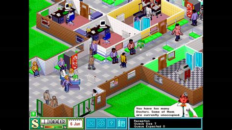 theme hospital list of levels let s play theme hospital ep 15 level 6 pt 4