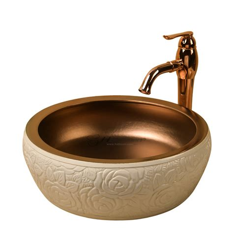 Cheap Vessel Sink Faucets by Modern Shaped Carved Discount Vessel Sinks Without