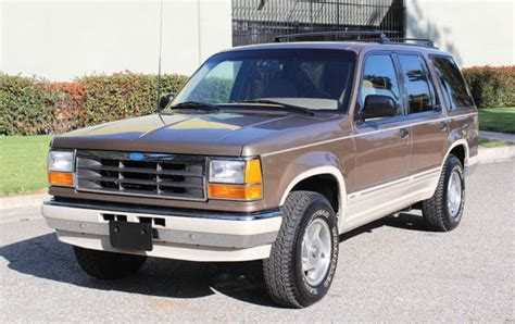 how to sell used cars 1991 ford explorer navigation system california original 1991 ford explorer 4x4 one owner 78k orig like new a classic ford
