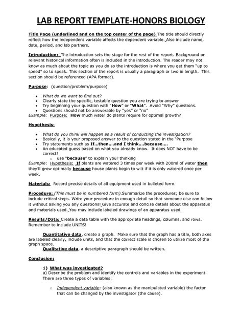 lab report template lab report template vnzgames
