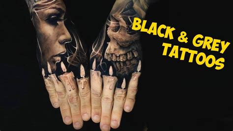 black and grey tattoo youtube incredible black and grey tattoo inspiration youtube