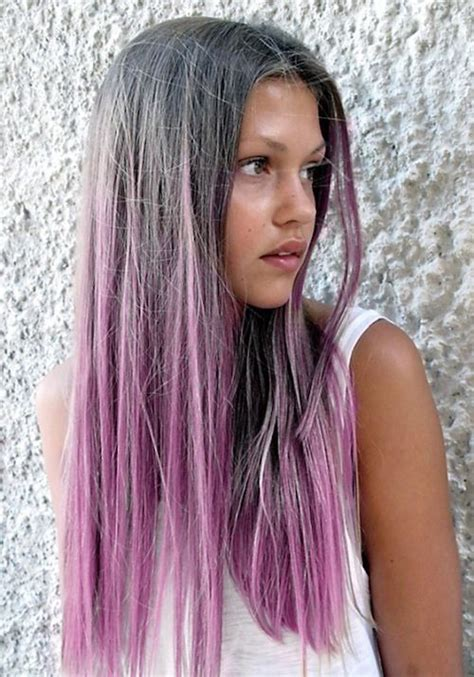 why have i gor grey hair in my 30s grey to lilac ombr 233 this would be perfect for my gray