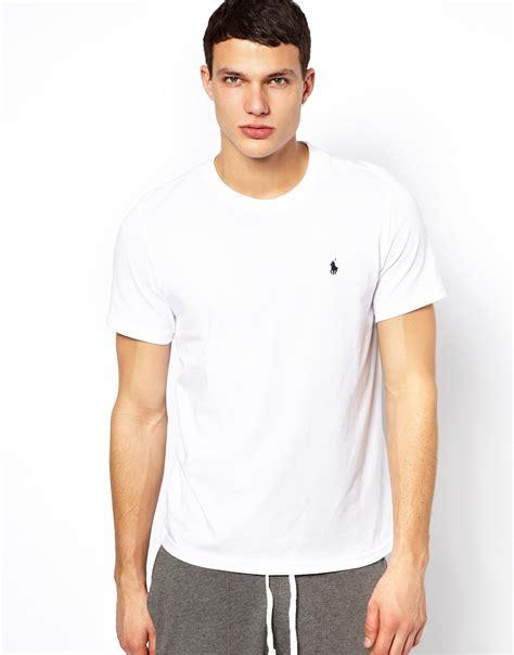 pemborong tshirt polo ralph lauren polo ralph lauren white crew neck t shirt regular fit in