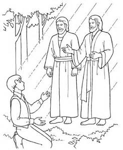 Joseph Smith Coloring Page joseph smith coloring page az coloring pages