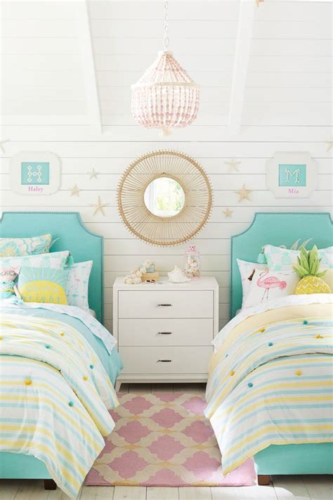 all things thrifty headboard 16 colorful girls bedroom ideas