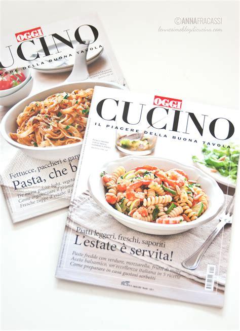 oggi cucino io rivista di nuovo in copertina su oggi cucino di ottobre