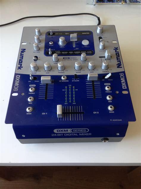 dj console numark dxm06 numark dxm06 audiofanzine