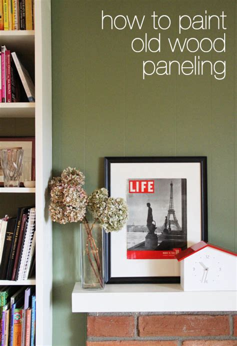 how to paint paneling this week for dinner new house fun archives this week