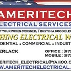 Ameritech Phone Number Lookup Ameritech Electrical Services Inc Electricians 15130 Marsh Ln