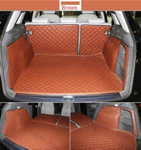 Cargo Liner For Audi Q5 Fly5d Car Trunk Mat Cargo Boot Liner Carpet Waterproof For
