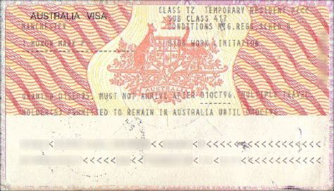 cara membuat visa working holiday australia visas mark moxon s travel writing