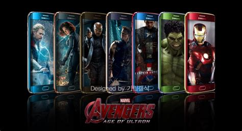 theme s6 edge marvel this marvel avengers themed limited edition samsung galaxy