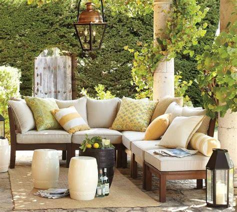 coussin canape jardin coussin de jardin un confort moelleux