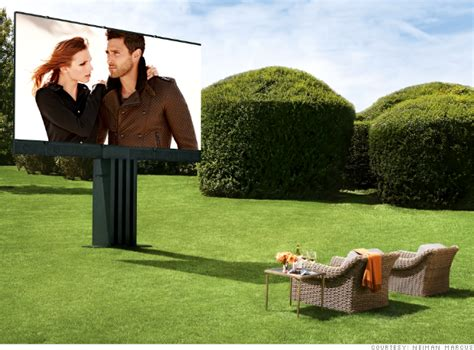 Outdoor Entertainment System - ultimate outdoor entertainment system five gifts from the neiman marcus fantasy catalog cnnmoney