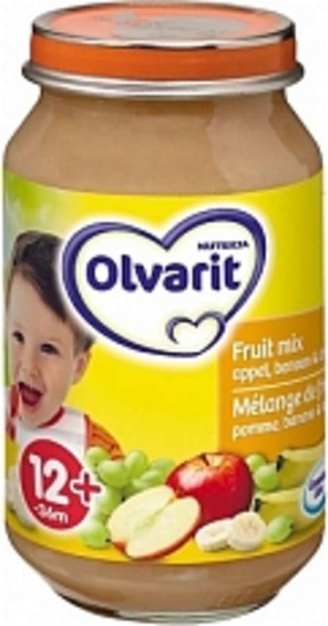 fruit o gram drogisttop olvarit fruithapje 12 fruitmix appel banaan