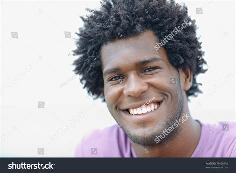 head shapes for african america men portrait of young african american guy looking at camera