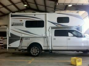 Travel Trailer With King Bed Slide In Truck Camper On A Supercrew Ford F150 Forum Html