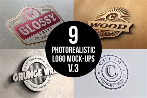 tutorial logo mockup how to create a gold foil logo mockup in adobe photoshop