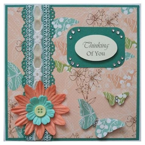 Handmade Thinking Of You Cards - handmade thinking of you card cards