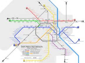 Metro Map by Delhi Metro Map 2017 Delhi Metro Route Map Of Orange Red