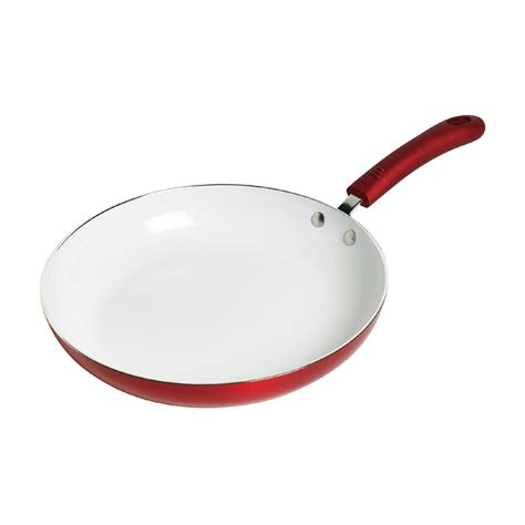 Does Kmart Take Sears Gift Cards - 11 quot nonstick red ceramic fry pan cook better at kmart
