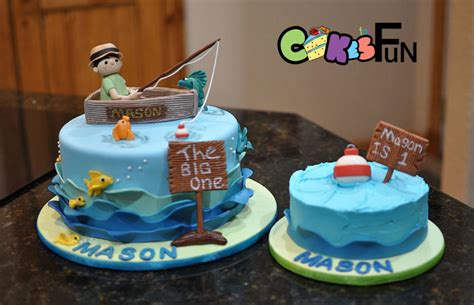 fishing boat birthday images first birthday fishing cake cake by cakes for fun