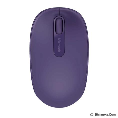 Microsoft Wireless Mobile Mouse 1850 U7z Hitam C3u6 jual microsoft wireless mobile mouse 1850 u7z 00050 purple murah bhinneka
