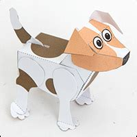 How To Make Dogs Out Of Paper - poseable paper to and make