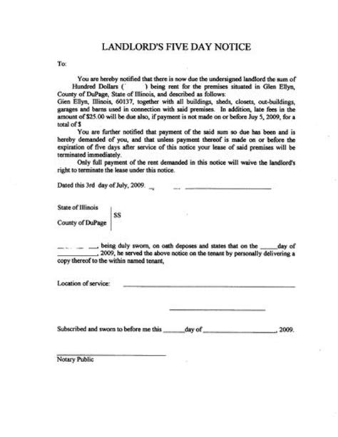 printable free eviction notice forms printable sle eviction letter form real estate forms