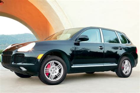 car   year  porsche cayenne turbo robb report