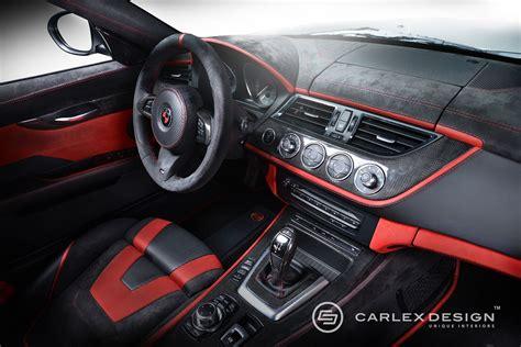 Auto Innenraum Tuning carlex design bmw z4 red carbonic mit tuning innenraum
