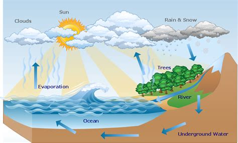 water cycle diagram water cycle diagram drawing a nature drawing