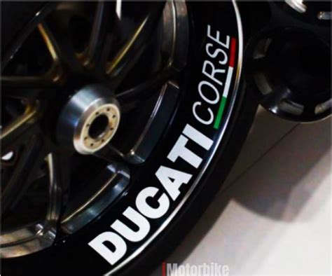 Ducati Rim Sticker by Ducati Corse Inner Rim Sticker Stickers Decals