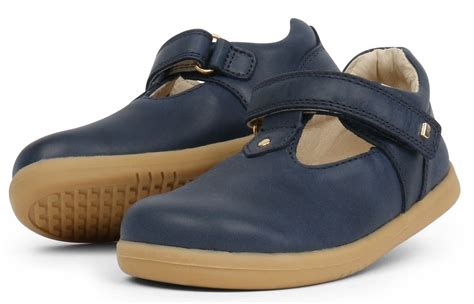 Louise Navy bobux i walk louise navy t bar shoes wanderers