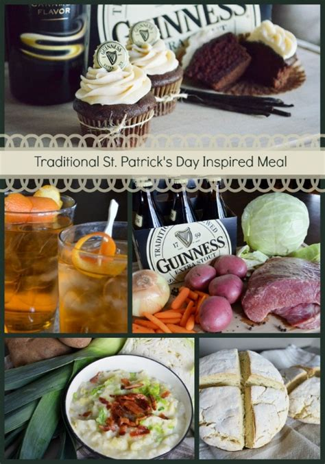 traditional st patrick s day food and drink ideas