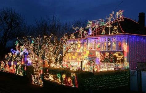 Lu Led Lu Natal White belles maisons avec d 233 coration lumineuse ext 233 rieure no 235 l
