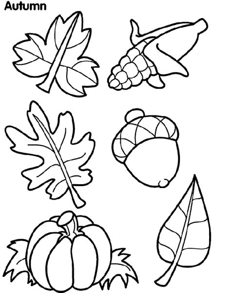 Crayola Coloring Pages Autumn Leaves | autumn leaves crayola ca