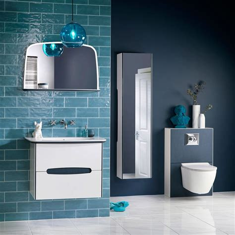 bathroom color trends 3 bathroom colour trends for 2018 bold blue and black