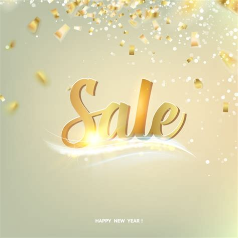 new year s day sales new year sales background vector premium