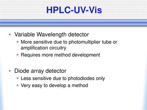 diode array detector vs uv detector diode array detector vs 28 images diode array detector vs 28 images ppt hplc detectors